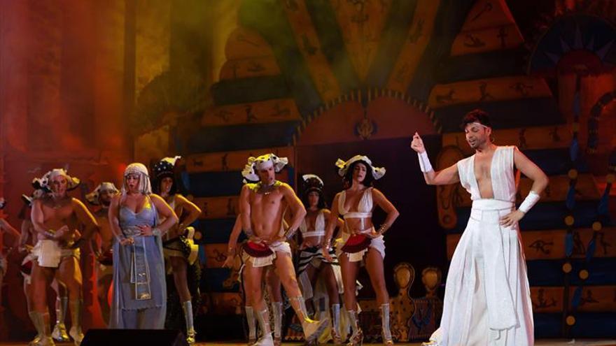 'La corte del faraón', un atractivo musical fuera de la identidad grecolatina