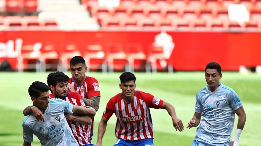 El VAR cambió el tanto de Babin por el penalti del gol de Djuka