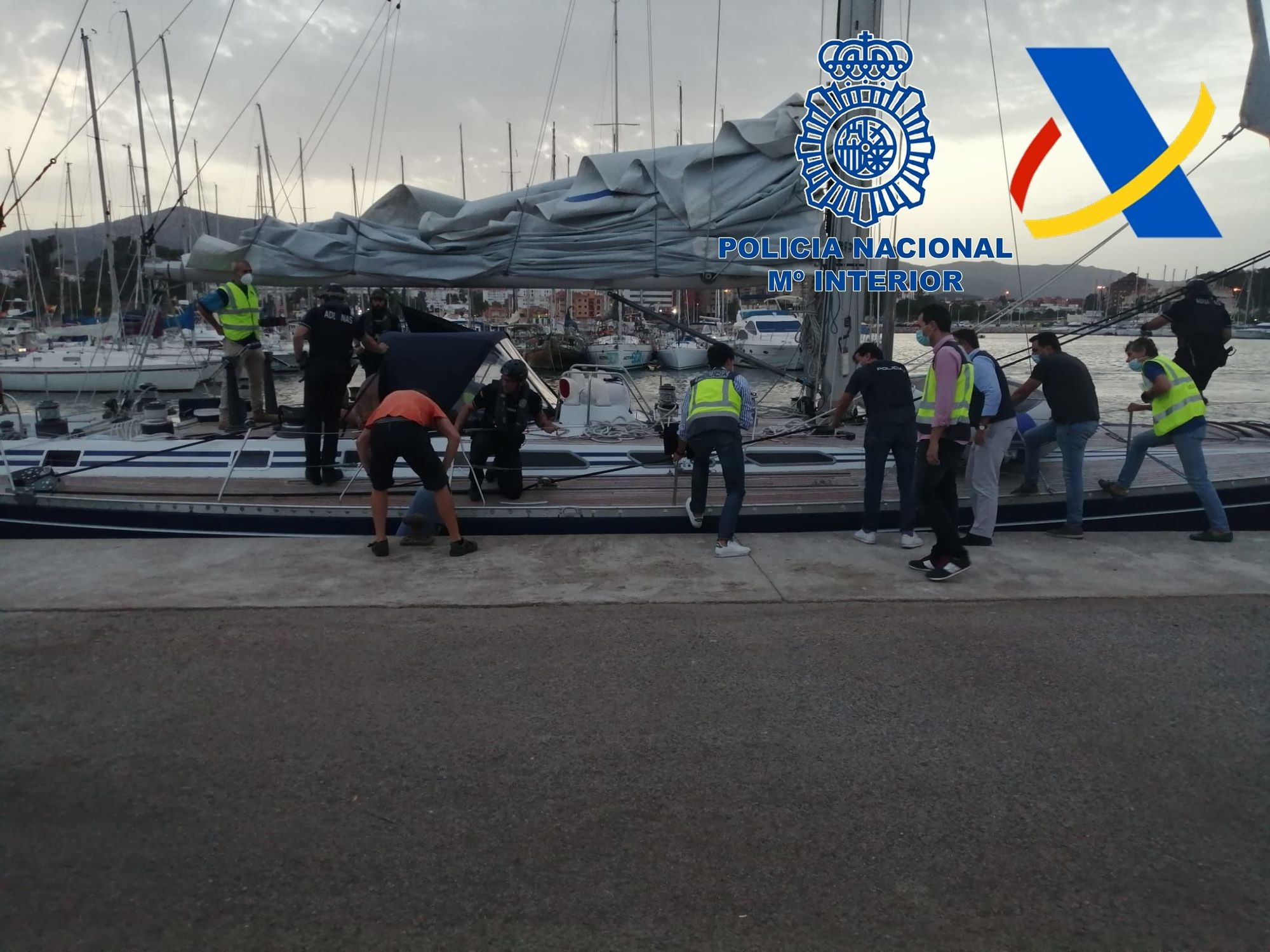 La gran operación antidroga de Mallorca se salda con la incautación de 35 toneladas de hachís