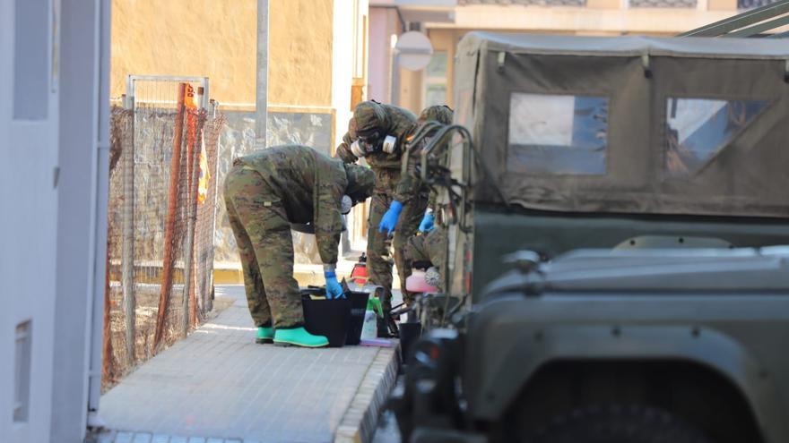 El ejército interviene en la residencia de Formentera del Segura con un brote de 27 residentes y trabajadores contagiados