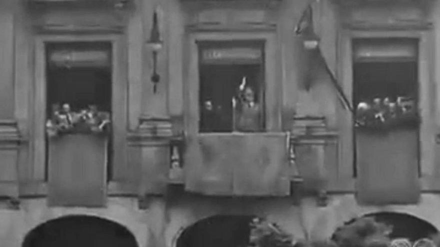 Franco se aferra a la medalla de Mieres