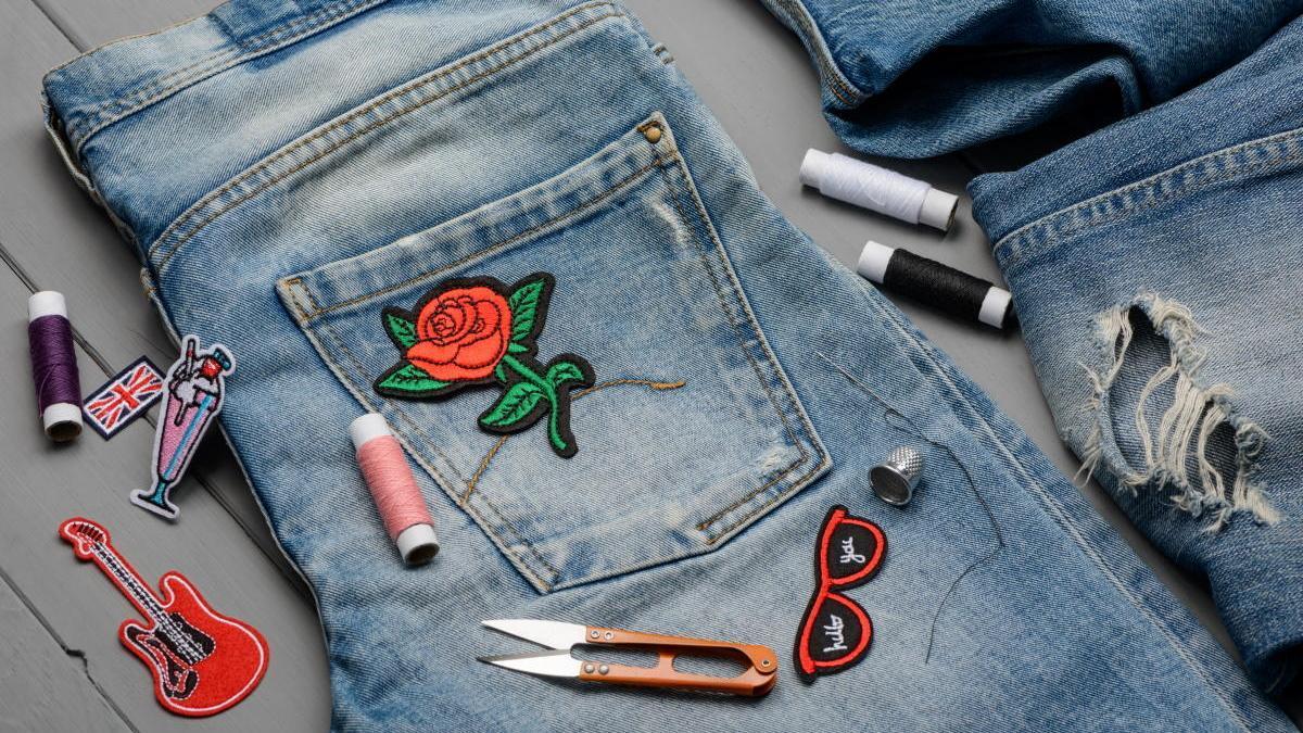 Customizar tus jeans, una opción de ocio.