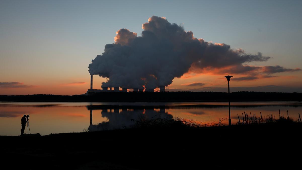 Central térmica de carbón de Belchatow (Polonia), la más grande de este tipo en Europa.
