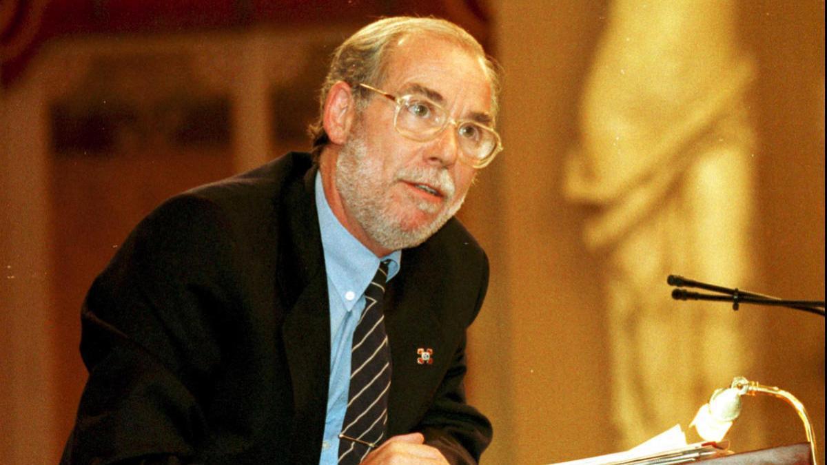 Andreu Crespí, en el Parlament.