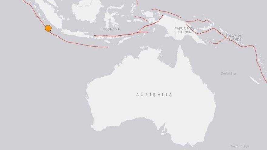 Diversos terratrèmols de fins a 7,7 graus de magnitud sacsegen aigües de l'Índic i el Pacífic sud