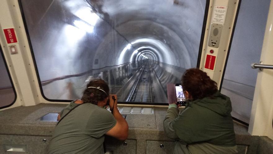El funicular, la cremallera que cosió Bulnes, cumple veinte años