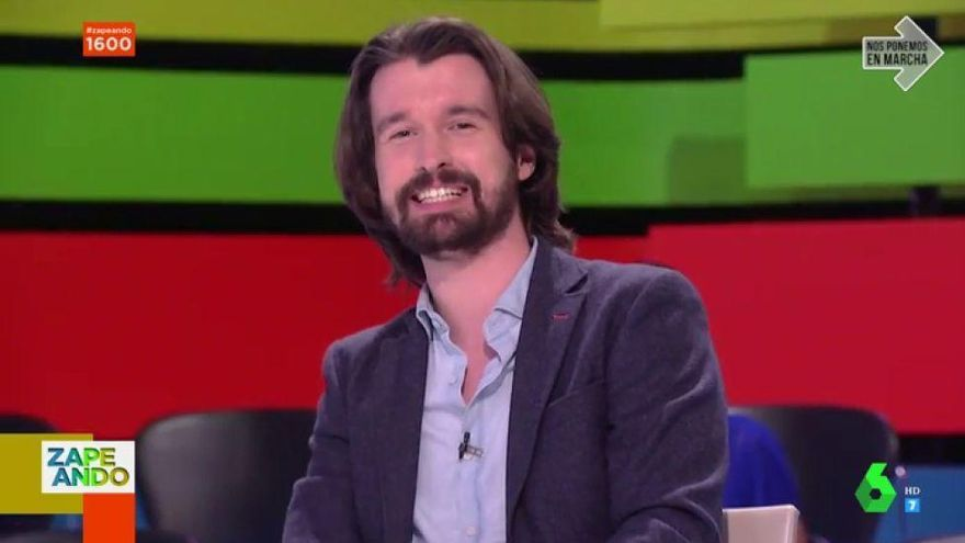 "Santi Alverú, sobre la polémica con Cristina Pedroche: ""Son bromas entre compañeros"""