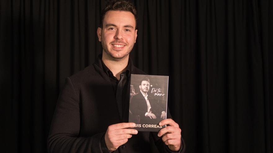 """Luis Correas presenta su nuevo disco """"De tu mano"""""""