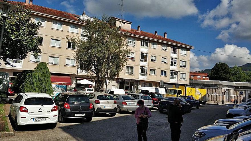 Gondomar apura la peatonalización de la plaza Rosalía de Castro