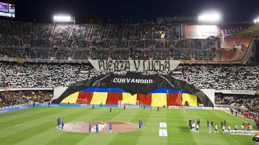 Imágenes, ya históricas, de la grada de Mestalla y que pueden volver pronto
