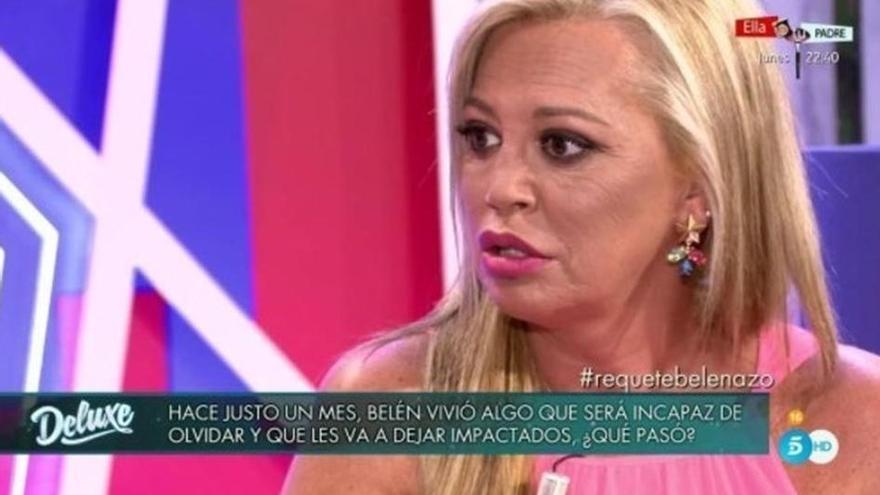 """Belén Esteban: """"Campanario me pidió ir a mi casa a espaldas de su familia"""""""