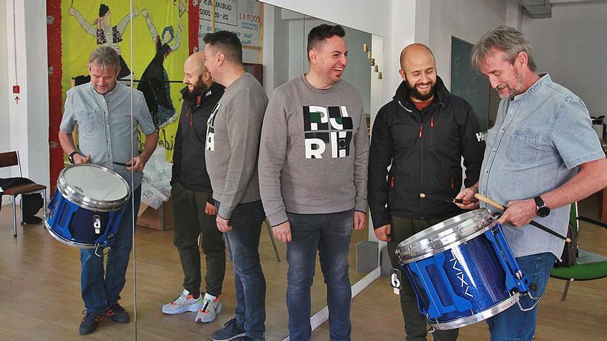Los dos percusionistas de Ourense que competirán en el mundial