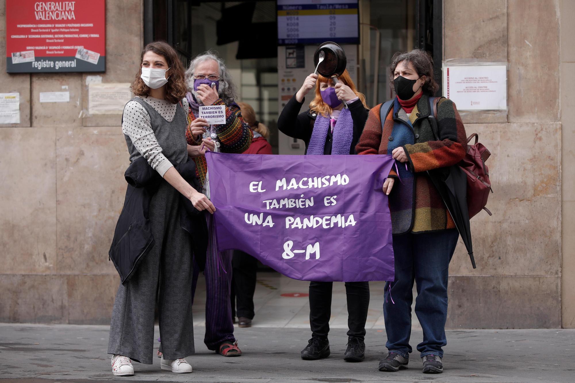 8M València: El Día de la mujer, en imágenes