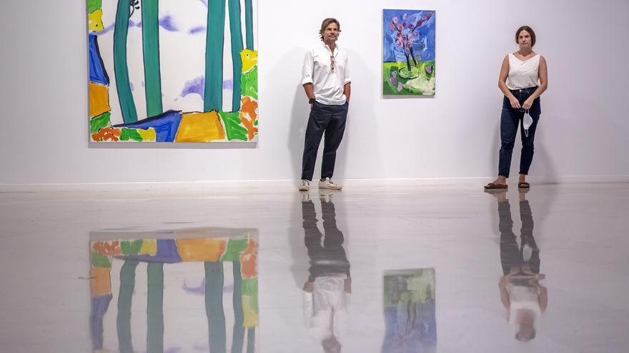 Pelaires propone una mirada colectiva de mujeres al lenguaje actual de la pintura