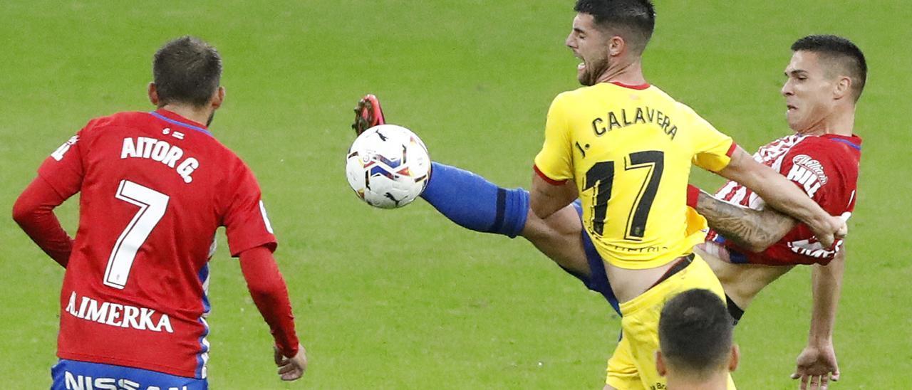 El partido Sporting-Girona