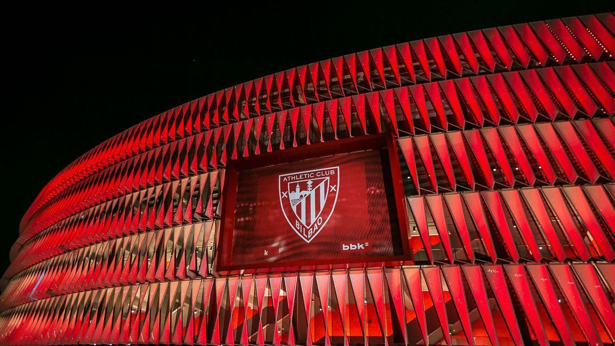 Imagen del estadio de San Mamés