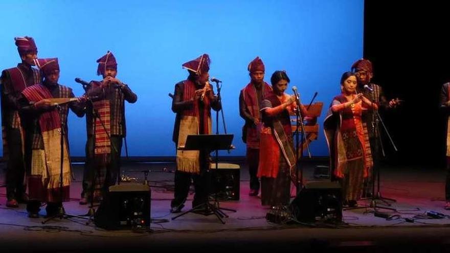 La música indonesia conquista Siero