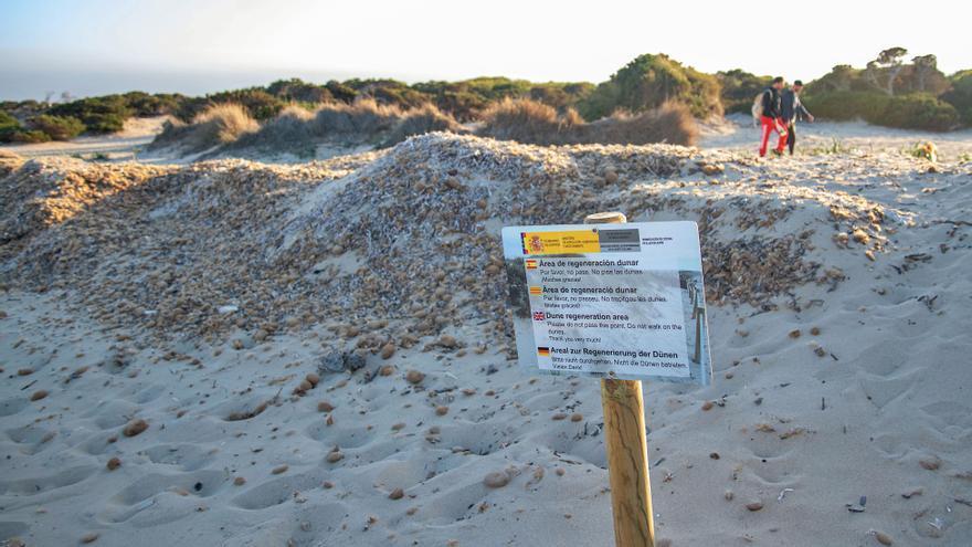 La fortaleza de las dunas de Ibiza