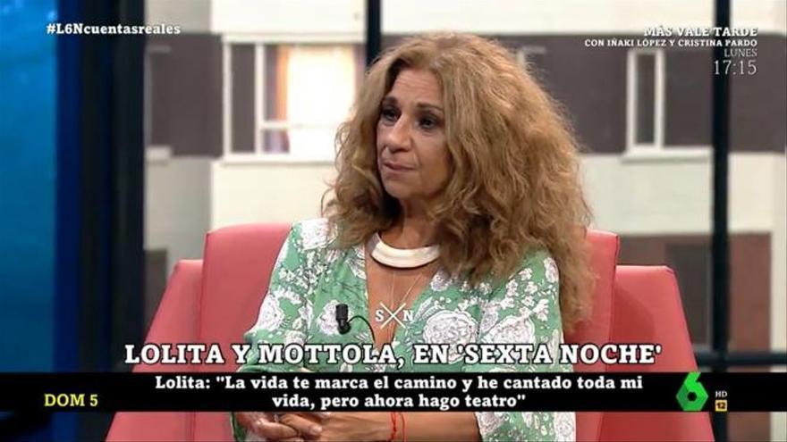 """Lolita: """"No soy feminista. No me gusta la denigración ni a un hombre ni a una mujer"""""""