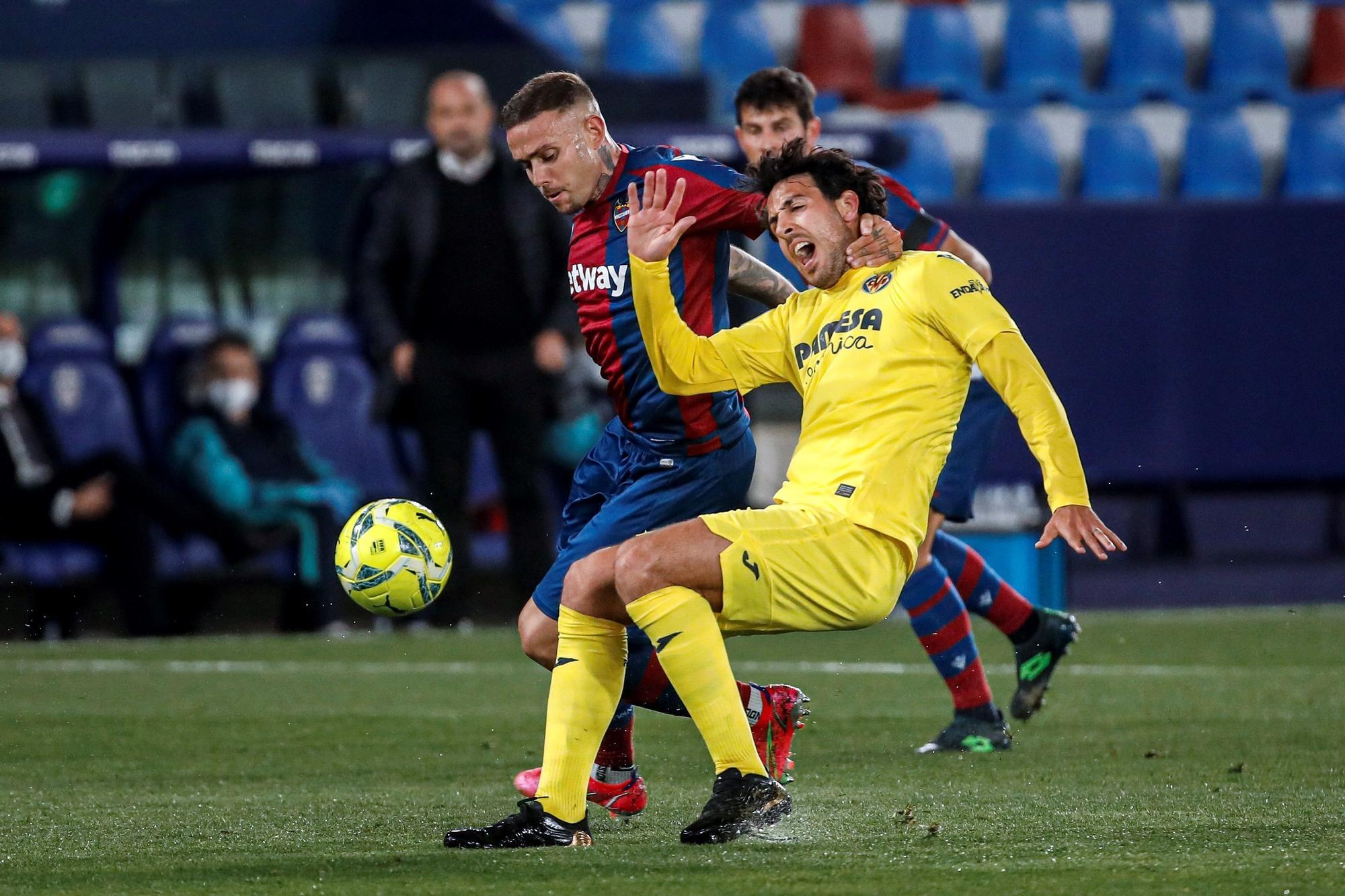 Las mejores imágenes del Levante-Villarreal