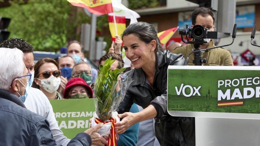 """Vox carga contra el feminismo """"de progres"""" que """"olvida a mujeres"""""""