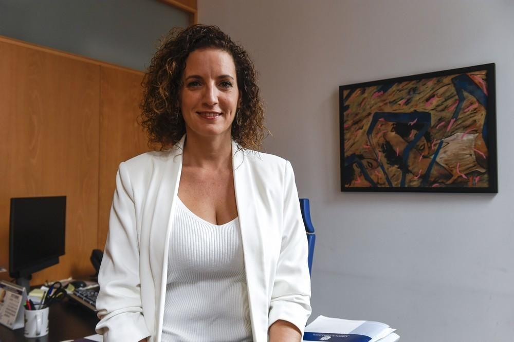 Sara Ramírez, consejera de Igualdad del Cabildo de Gran Canaria