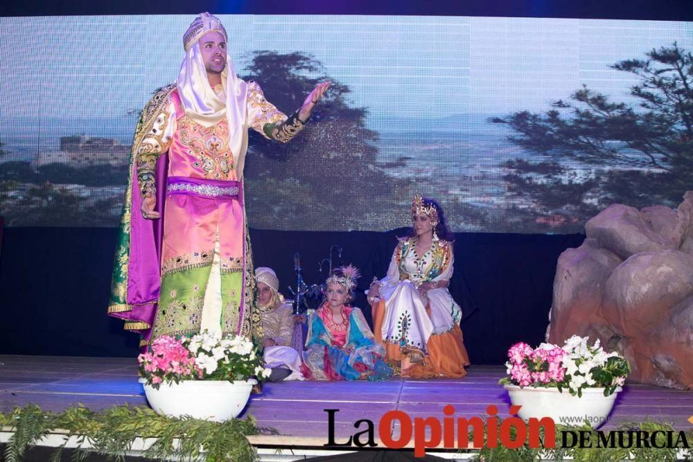 Presentación Sultanes, Reyes y Amazonas en Caravac