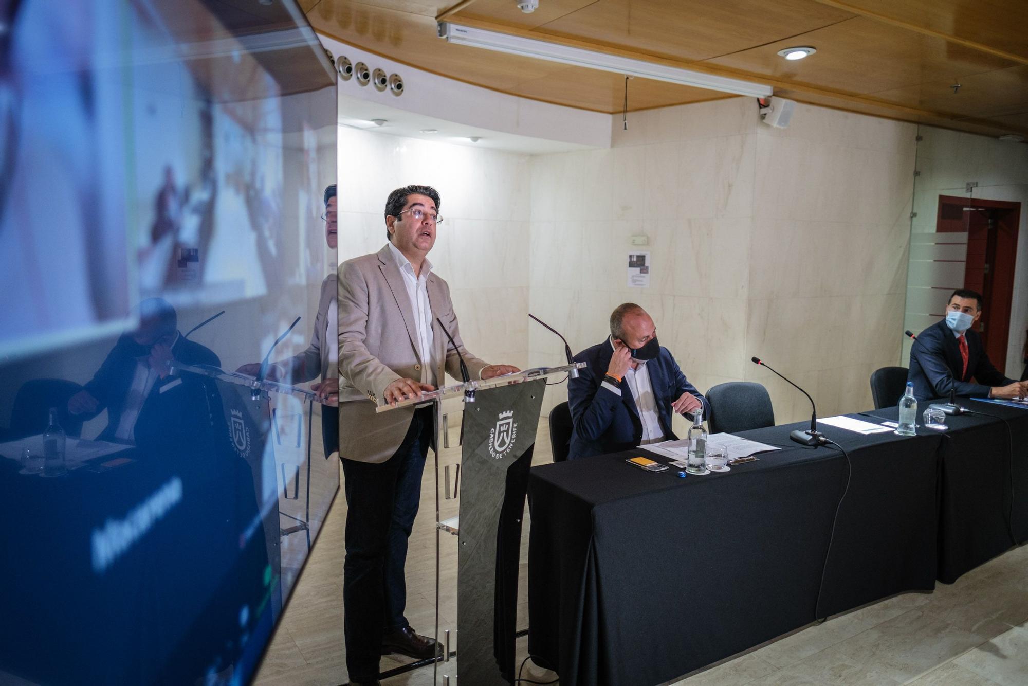 Presentación del nuevo cable submarino Canarias-Península
