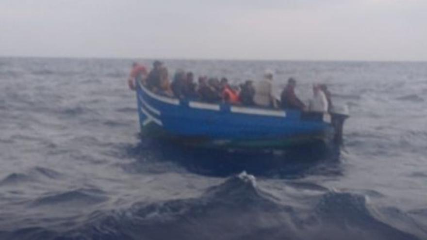 Llegada de migrantes a Lanzarote (16/10/21)