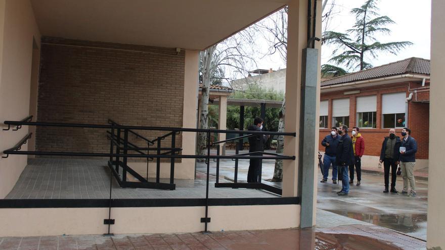Un gimnasio nuevo para los alumnos del CEIP Pío XII de Nules