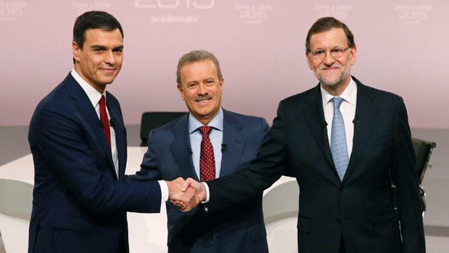 El debate Rajoy-Sánchez fue visto por 9,6 millones de personas