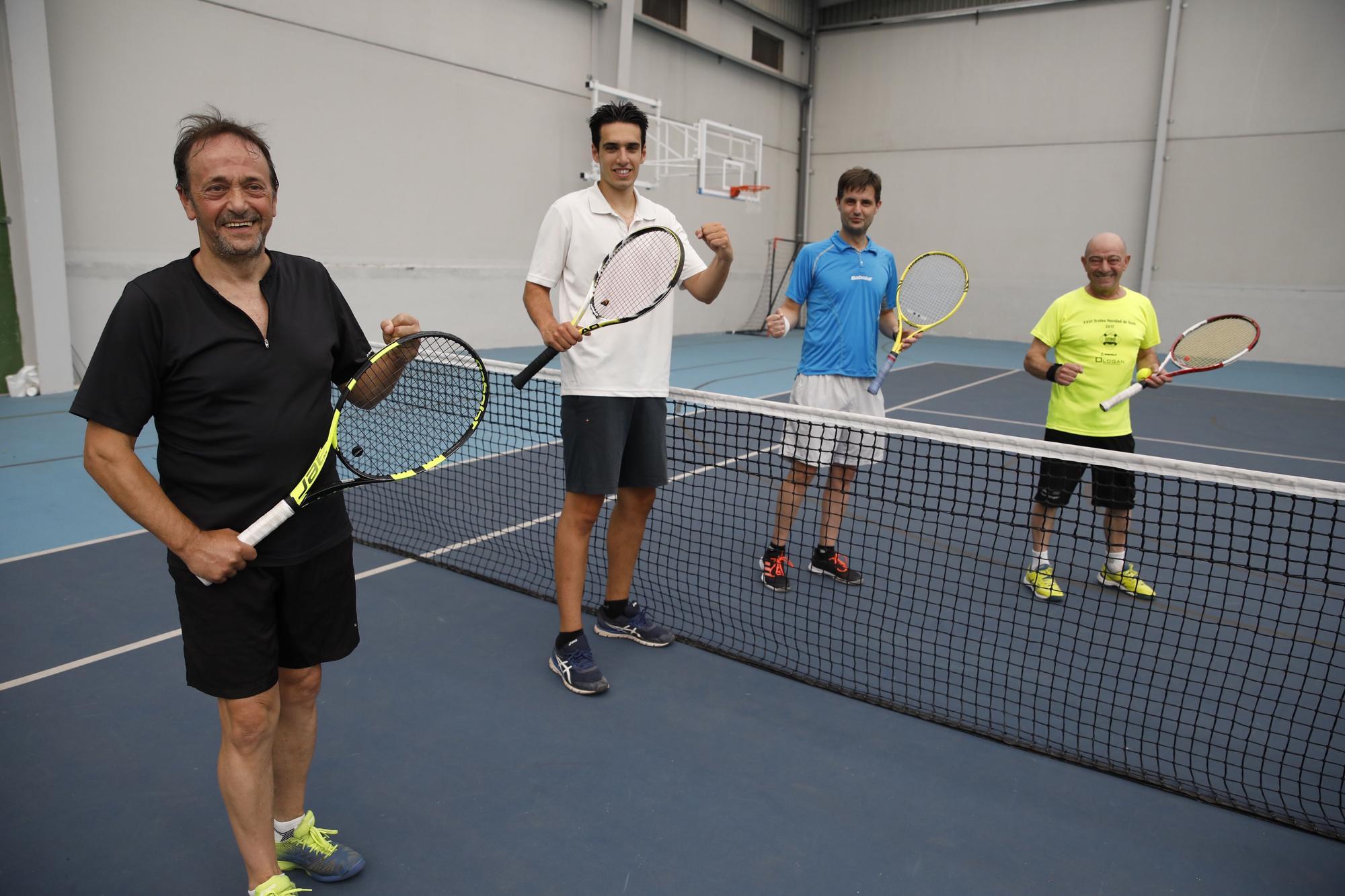 El día después de la victoria de Carreño: Grupo Covadonga, en el Santa Olaya y en el club de Tenis de Gijón