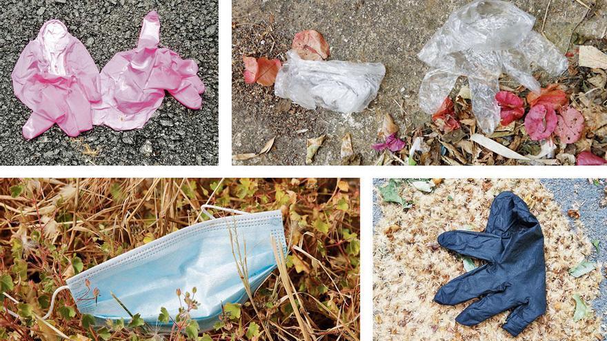 Wenn Handschuhe und Masken die Umwelt verschmutzen