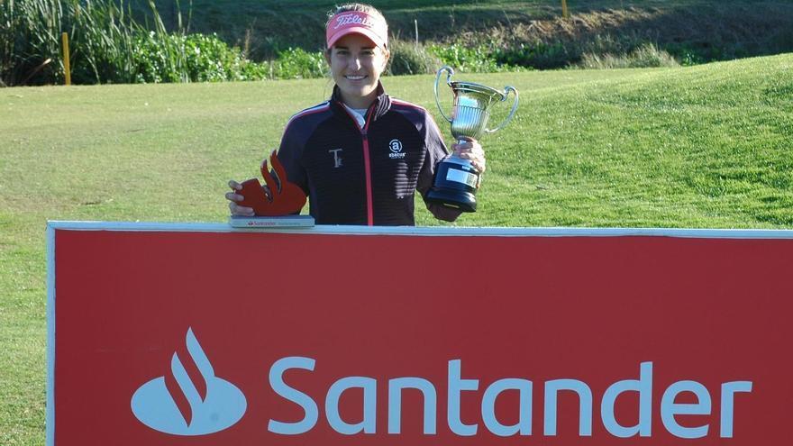 Luna Sobrón se adjudica el Santander Golf Tour 2020