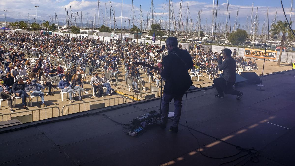 El concierto de Love of Lesbian en la Marina de València.