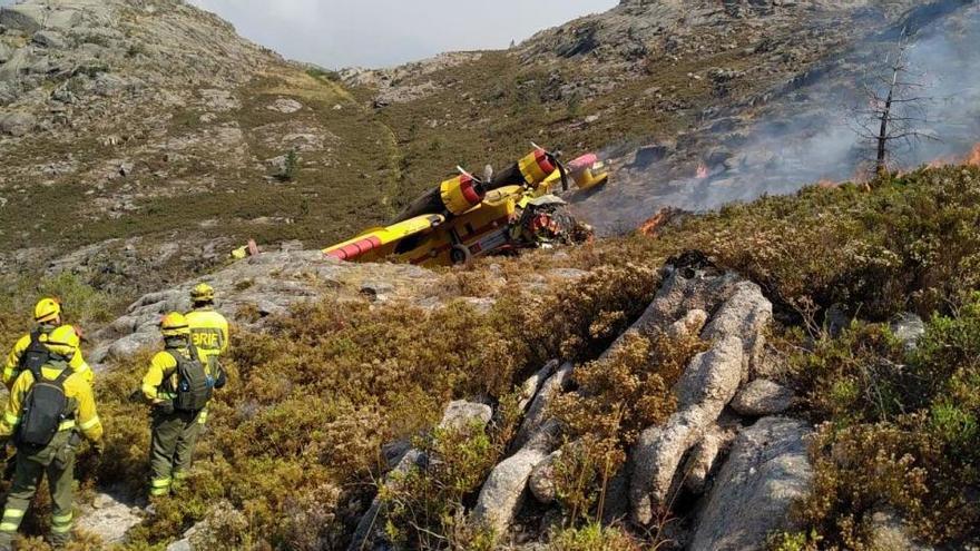"""El piloto español herido en el accidente de hidroavión está """"fuera de peligro"""""""