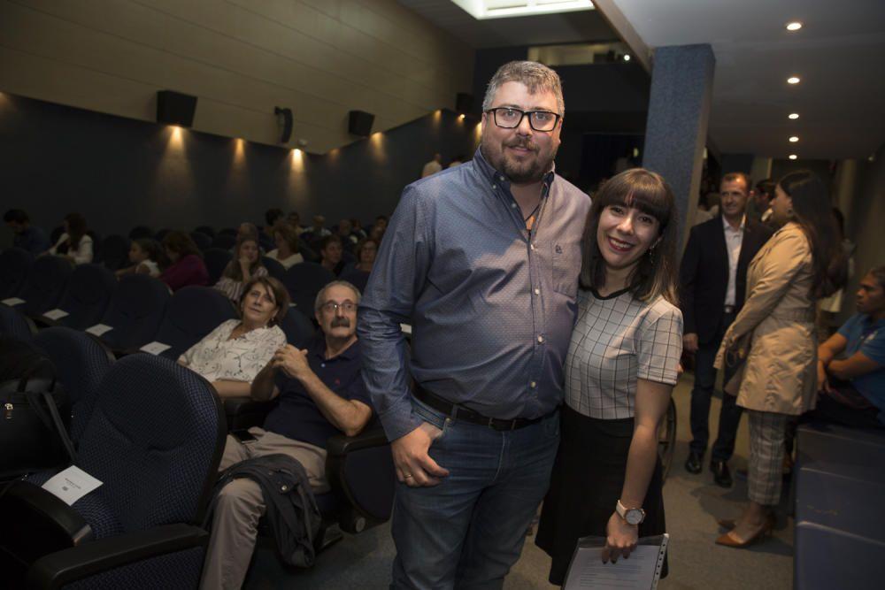 """Presentación del documental """"Almas de fuego"""" en el Club Información"""