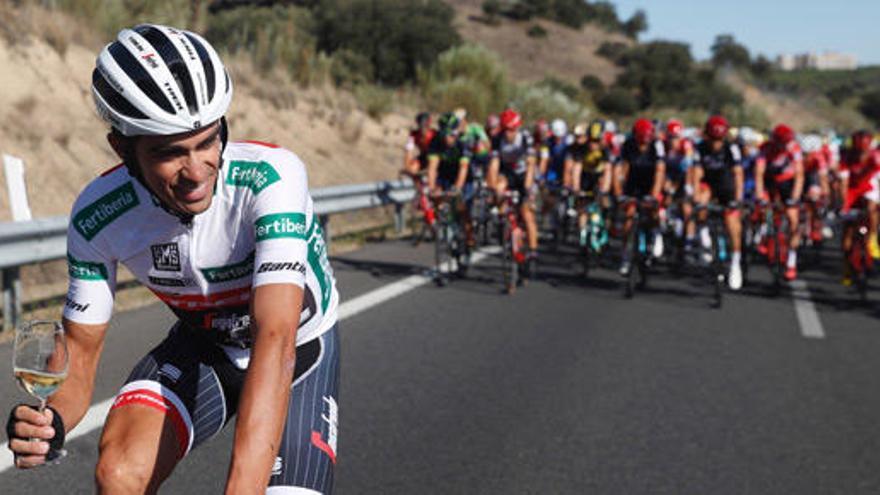 """Alberto Contador: """"Ha sido un día mágico"""""""