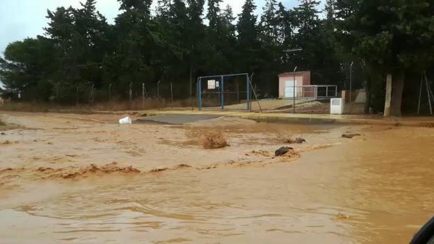 Denuncian nuevas inundaciones y posibles vertidos al Mar Menor