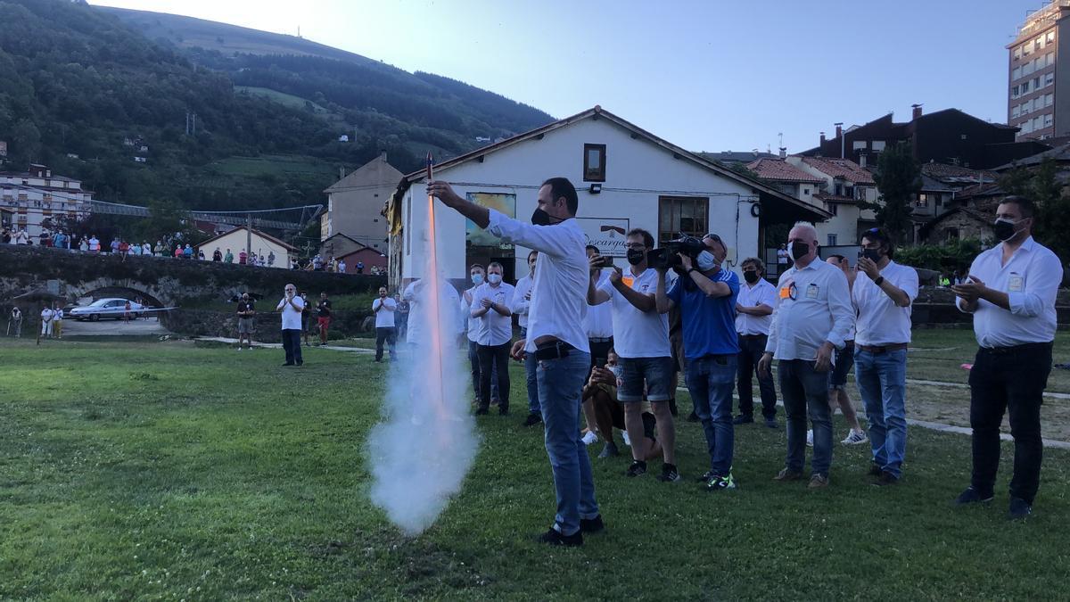 Celebración del Carmen en Cangas del Narcea.