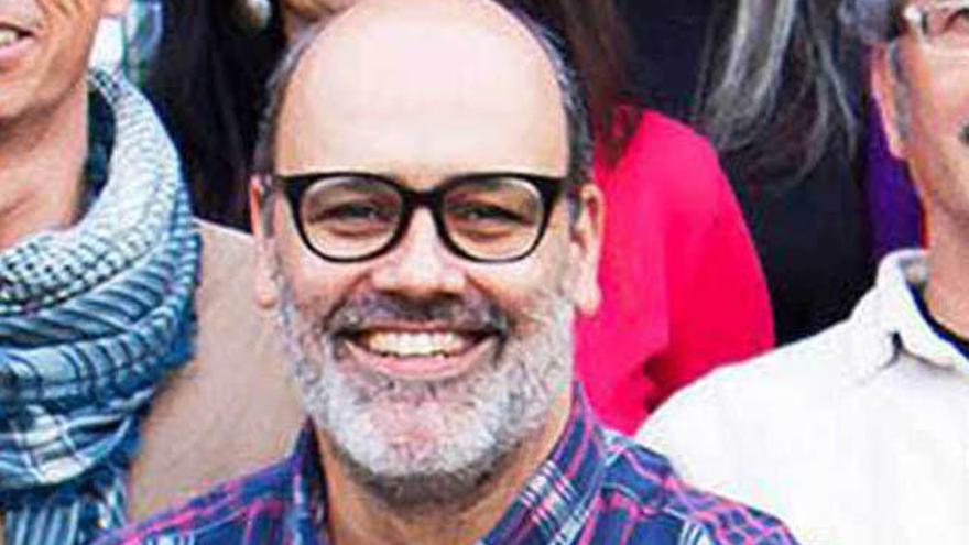 Juan Manuel Brito, candidato de Podemos al Cabildo grancanario