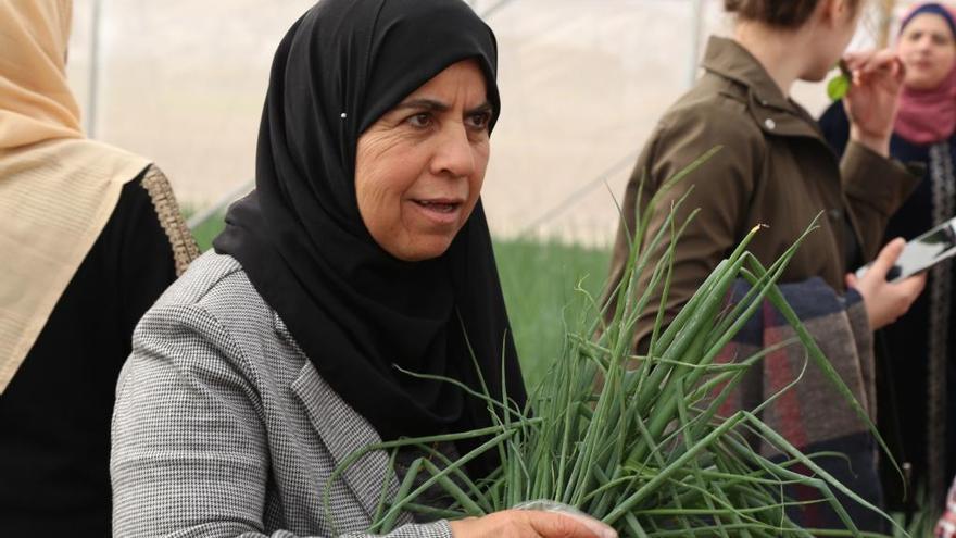 Les dones cooperativistes prenen partit a Palestina