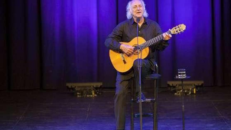 """Amancio Prada retorna coa súa música e lírica ó escenario do """"Luar"""" esta noite"""