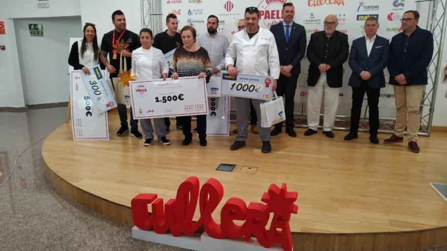 El Racó de Meliana gana el IV Concurso Nacional de Paella de Cullera