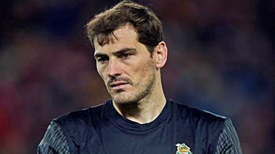 Y a Iker Casillas le salieron alas