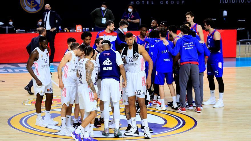 El Madrid se desespera ante el Anadolu Efes y se complica los 'playoffs'