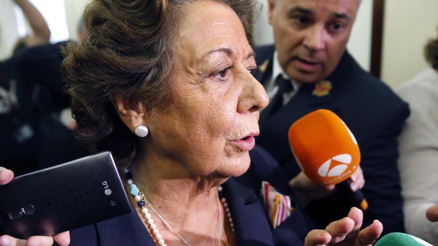 El equipo de Gobierno veta el nombramiento de Rita Barberá como alcaldesa honoraria
