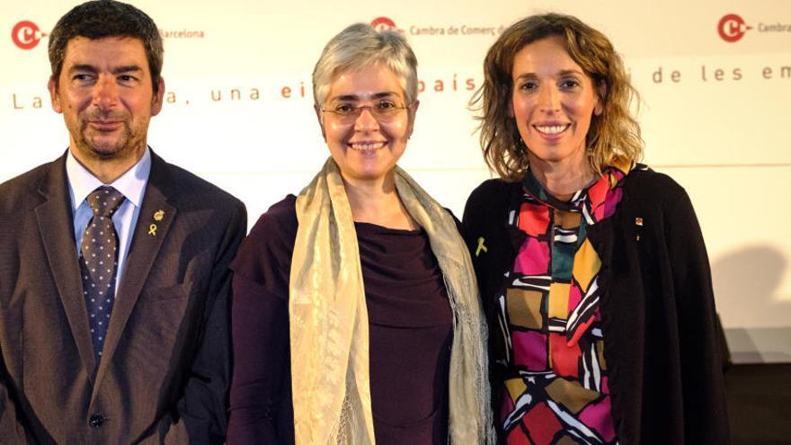 La Cambra de Barcelona reconeix l'institut igualadí Pere Vives Vich pels seus 50 anys