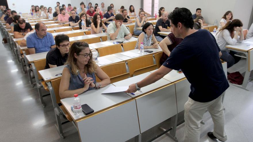 Educación no retrasará el examen a los opositores en cuarentena o positivos