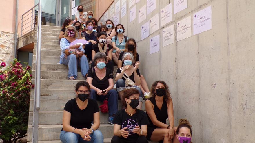 Lloseta sanciona con 100 euros a activistas feministas por un acto reivindicativo el 8-M